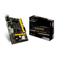Biostar A320MH AM4 AMD A320 SATA 6Gb/s Micro ATX AMD Motherboard