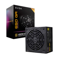 EVGA 220-GA-0650-X1 SuperNOVA 650 GA 80 Plus Gold 650W Fully Modular ECO Mode 150mm Size Power Supply