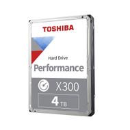 "Toshiba HDWE140XZSTA X300 4TB 7200 RPM 128 MB SATA III 3.5"" Internal Hard Drive"