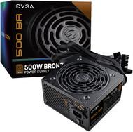 EVGA 100-BA-0500-K1 80+ BRONZE 500W, 3 Year Warranty, Power Supply