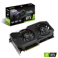Asus DUAL-RTX3070-O8G Dual NVIDIA GeForce RTX 3070 OC Edition Gaming Graphics Card PCIe 4.0, 8GB GDDR6 Memory, HDMI 2.1, DisplayPort 1.4a, Axial-tech Fan Design, Dual BIOS (Limited supply, All sales are final)