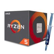 Special bundle - AMD YD1600BBAFBOX Ryzen 5 1600 65W AM4 Processor with Wraith Stealth Cooler + Arctic ACTCP00002B MX-4 4G Thermal Compound (4.0 g)