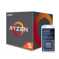 Special bundle - AMD YD1600BBAFBOX Ryzen 5 1600 65W AM4 Processor with Wraith Stealth Cooler + Innovation Cooling Graphite Thermal Pad (30 X 30mm)