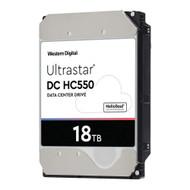 "WD WUH721818ALE6L4 Ultrastar DC HC550 18 TB 0F38459 3.5"" Internal 512MB SATA 7200rpm 512E SE NP3"