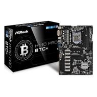 ASRock H110 Pro BTC+ 13GPU Mining Motherboard Cryptocurrency LGA1151