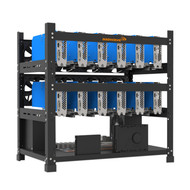 AAAwave 12GPU Open Frame Mining Rig Frame Chassis for Crypto currency ETH Ravencoin Zcoin