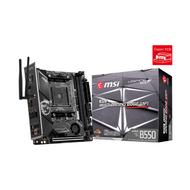 MSI MPG B550I GAMING EDGE WIFI Gaming Motherboard (AMD AM4, DDR4, PCIe 4.0, SATA 6Gb/s, M.2, USB 3.2 Gen 2, AX Wi-Fi 6, HDMI, Mini-ITX)