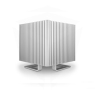 Streacom ST-DB4S DB4 Fanless Chassis Silver, Extruded Aluminum, without Optical Slot