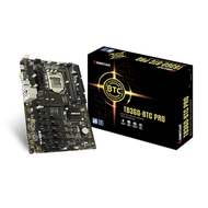 Biostar TB360-BTC PRO Ver. 6.x LGA1151 DDR4 Supports DX12/HDCP ATX Motherboard (Best to Crypto-Mining)