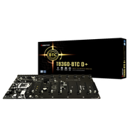 Biostar TB360-BTC D+ LGA1151 Supports 14nm Intel B360, PCIe up to 8 slots, DDR4-2666 Mining Motherboard (Best to Crypto-Mining)