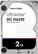 """WD HUS722T2TALA604 2TB Ultrastar DC HA200 SATA HDD - 7200 RPM Class, SATA 6 Gb/s, 128MB Cache, 3.5"""""""