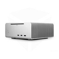 Streacom ST-FC8S ALPHA OPT FC8 ALPHA Fanless Chassis Silver, Extruded Aluminum, with Optical slot
