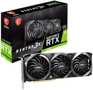 MSI RTX 3060 VENTUS 3X 12G OC Gaming GeForce RTX 3060 12GB GDRR6 192-Bit HDMI/DP PCIe 4 Torx Triple Fan Graphics Card (Limited supply, All sales are final)