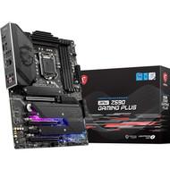 MSI MPG Z590 GAMING PLUS Gaming Motherboard (ATX,1th/10th Gen, LGA 1200, DDR4, PCIe 4, CFX, M.2 Slots,USB 3.2 Gen 2)