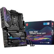MSI MPG Z590 GAMING EDGE WIFI Gaming Motherboard (ATX,11th/10th Gen ,LGA 1200,DDR4,PCIe 4,CFX, M.2 Slots,USB 3.2 Gen 2 )