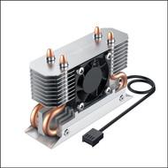 Titanium Micro TMHSFM3 NITRO M.2 Dual Cooler Heatsink with 30mm PWM Fan