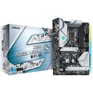 ASRock Z590 STEEL LEGEND WIFI 6E LGA1200/Intel Z590/ DDR4/ Quad CrossFireX/ SATA3&USB3.2/ M.2/ Bluetooth/ATX Motherboard