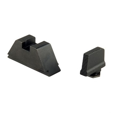 "Ameriglo: Glock Suppressor Sight Set: Black (.315"" Front/.394"" Rear) GL-429"