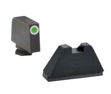 "Ameriglo: Glock 5XL Suppressor Sight Set (.407"" Tritium White Front / .507"" Black Rear) GL-482"