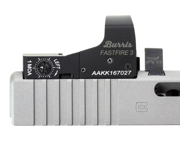 Burris FastFire 3 Optic Cut Machining for Glock Pistols