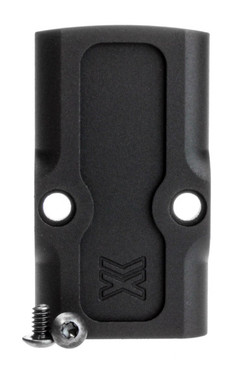 Cover Plate: RMR/SRO/507C/407C/508T (Glock 9/40/357/30s/36 Slides: Excl. Gen 5 .40 S&W) Factory Rounded Profile: Black