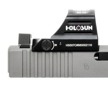 Holosun 507c/407c/508T (V1/V2/X2) Optic Cut (Glock)