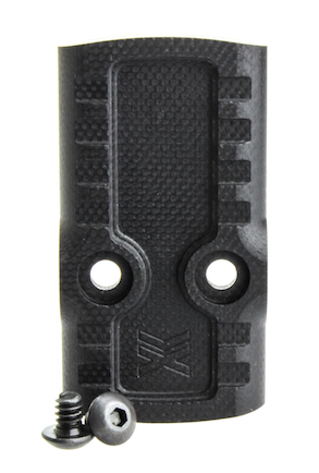 Battle Werx Cover Plate: Venom/Fast Fire 3 Optic Cut Glock 9/40/357 Factory Rounded Corner Profile (CP_VEN_RAD)