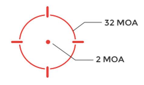 HOLOSUN HE508T-RD X2 OPTIC