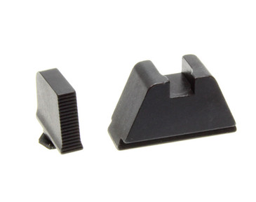 "Ameriglo: Glock 3XL Suppressor Sight Set: Black (.365"" Front/.451"" Rear) GL-506"