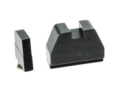 "Ameriglo: Glock 7XL Suppressor Sight Set: Black (.450"" Front / .554"" Rear) GL-527"