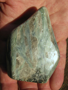 BLUE GREEN KYANITE FREE FORM ~ REMOVES BLOCKS ~ ALIGNS CHAKRAS 7243