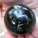 "Option 3: Black Tourmaline Sphere,  66 mm-2.6"""