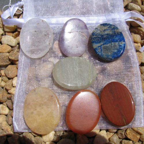 7 piece Chakra Stone Set