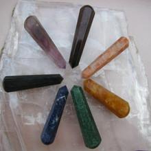 7 piece chakra wand set