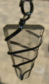 CLEAR QUARTZ SPIRAL PENDANT, No Chain ~ASYRA/QEST4 Users