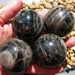 Black Moonstone Medium Sized, 45-48 MM
