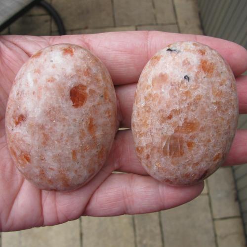 Sunstone Palm Stones, Oval Soap Stones