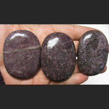Lepidolite Palm Stone