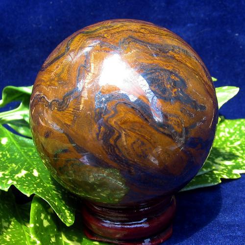 "Tiger Iron Sphere, 50 mm, 2"""