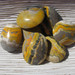 Bumble Bee Jasper Puffy Soap Stones