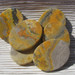 Bumble Bee Jasper Flat Oval Stones