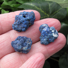 """Azurite """"Blueberry"""" Clusters,  For Intuition, Use on 3rd Eye"""
