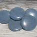 Angelite Thin Disks, Palm Stones