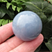 Angelite 40MM Sphere