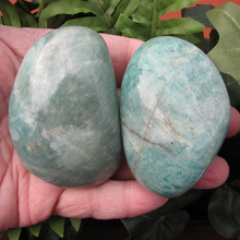 Amazonite Soap Stones, Amazonite Palm Stones