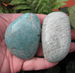 Amazonite Soap Crystals