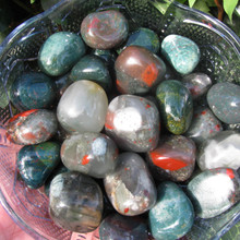 Bloodstone Tumbled Stones, Clears Confusion