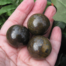30mm Bronzite Spheres