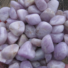 Tumbled Kunzite Stones,