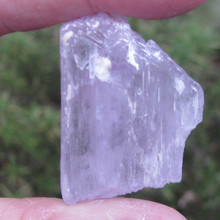 Raw Pink Kunzite Piece